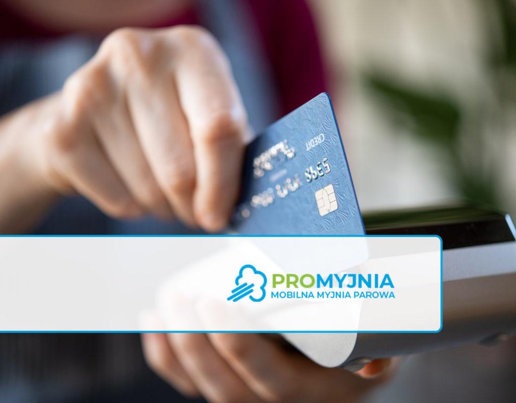 Płatność kartą - Promyjnia Bydgoszcz