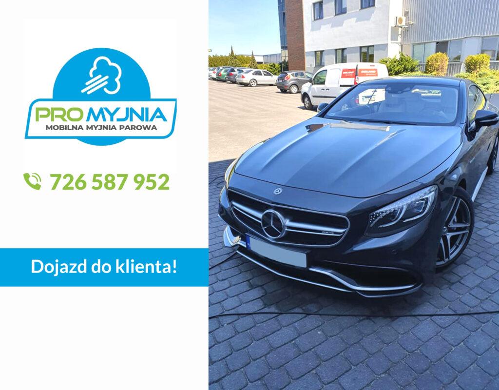 Czyszczenie auta z dojazdem - mobilna myjnia Bydgoszcz